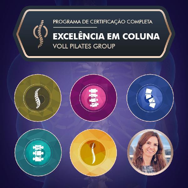 Certificação Completa Excelência em Coluna