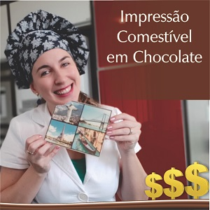 Curso de Impressão Comestível em Chocolate